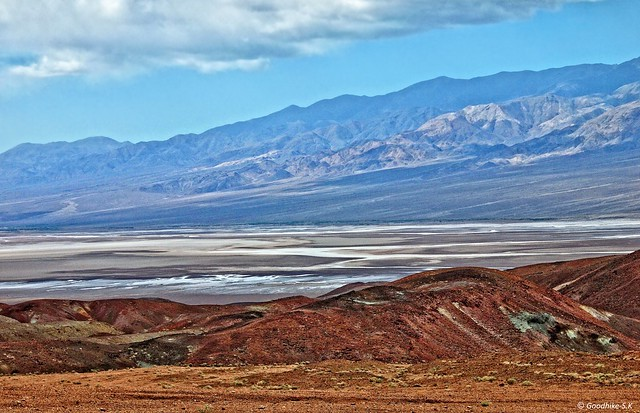 Layers of Harshness, Death Valley National Park, California