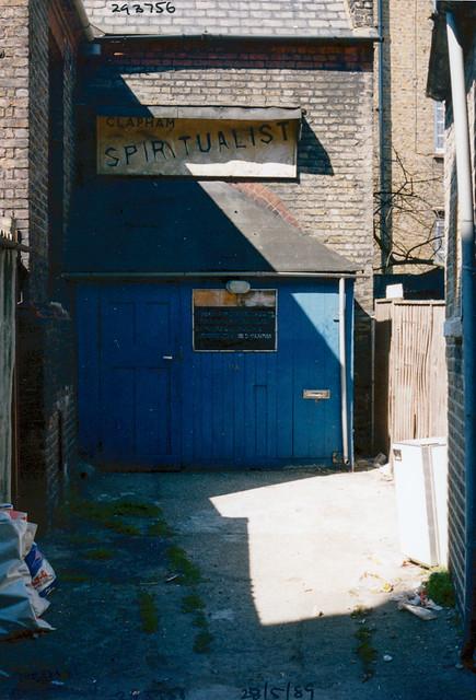 Clapham Spiritualist, Church, North St, Clapham, Lambeth, 1989,