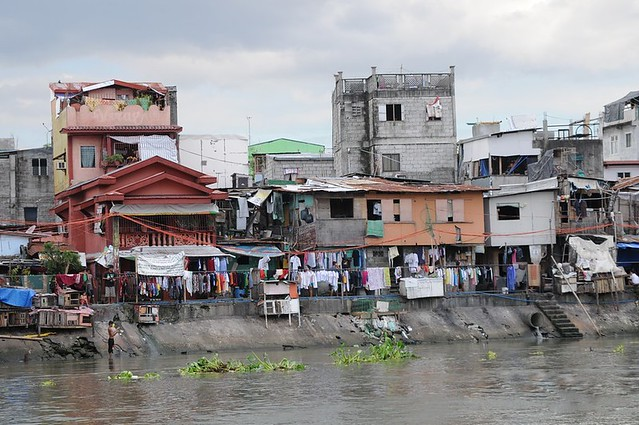 along the Pasig River