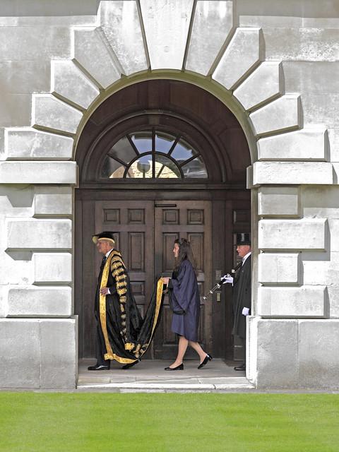Prince Philip as Cambridge Uni Chancellor
