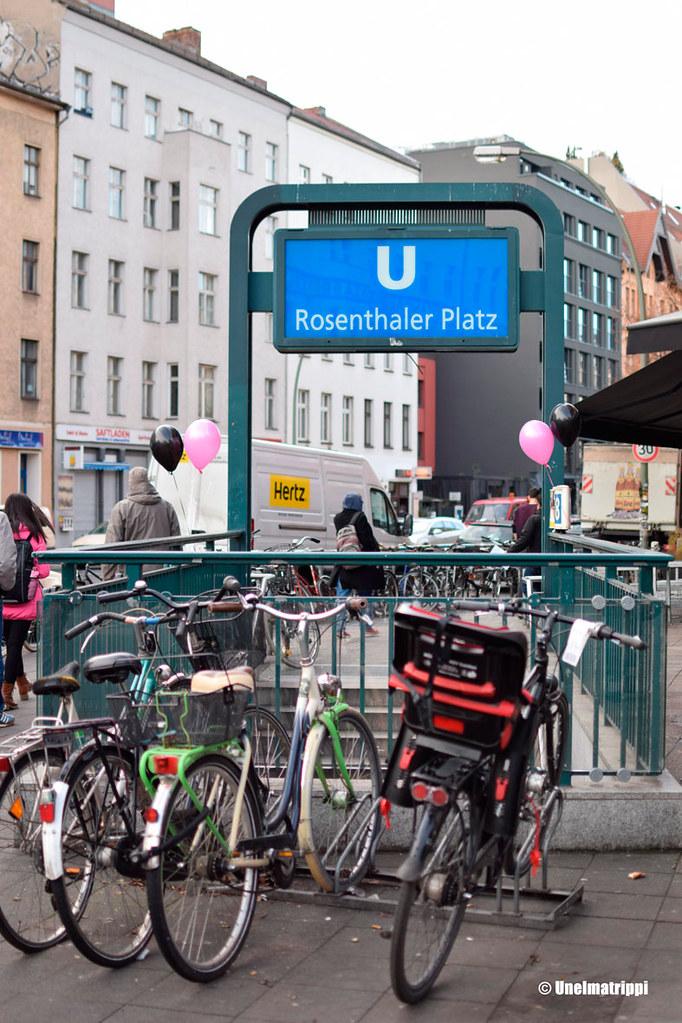 Rosenthaler Platzin metroasema Berliinissä