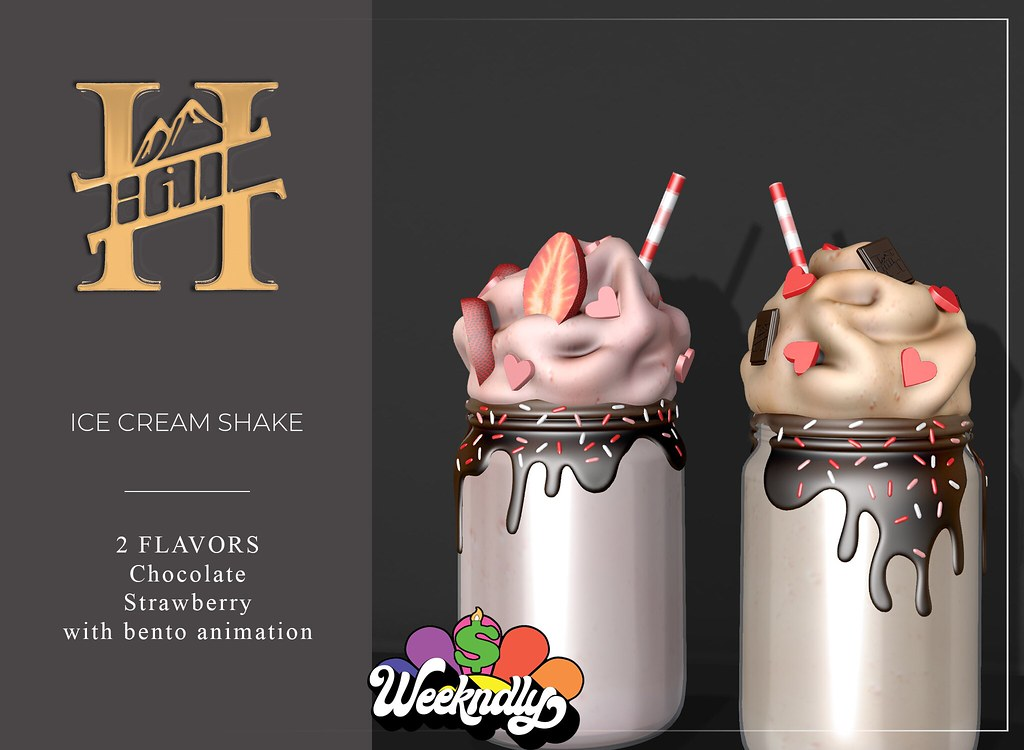 HILL_ICE CREAM SHAKES-!!WEEKNDLY SALE!!