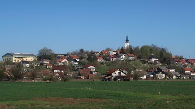 Moslavačka Gora, Moslavina, CROATIA, April 2021