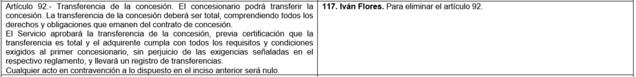 Captura del Comparado del proyecto de ley SBAP, 3 de marzo 2021.