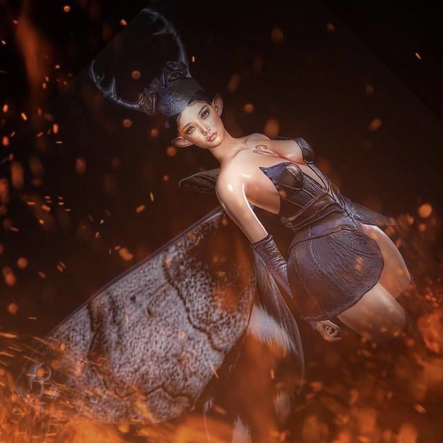 Like a moth to a flame 🔥