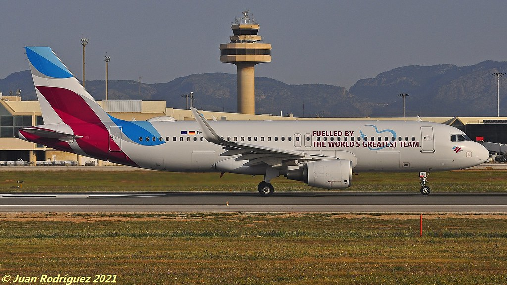 D-AIZS - Eurowings - Airbus A320-214 (WL) - PMI/LEPA