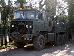quicksilver coaches posted a photo:	E469 MAS1988 Foden 6x6 RecoveryBerry Cranes, Towcester, NorthamptonshireJacks Hill Cafe, Towcester, 6 April 2021New to the ArmyA recent purchase by Berry Cranes to act as their fleet recovery vehicle, currently being prepared for use.