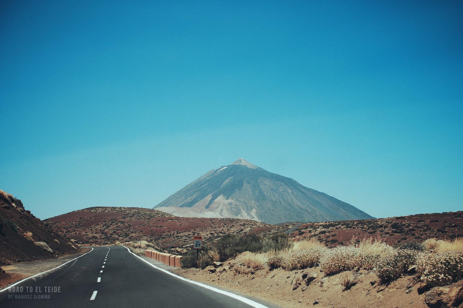 The noon at El Teide