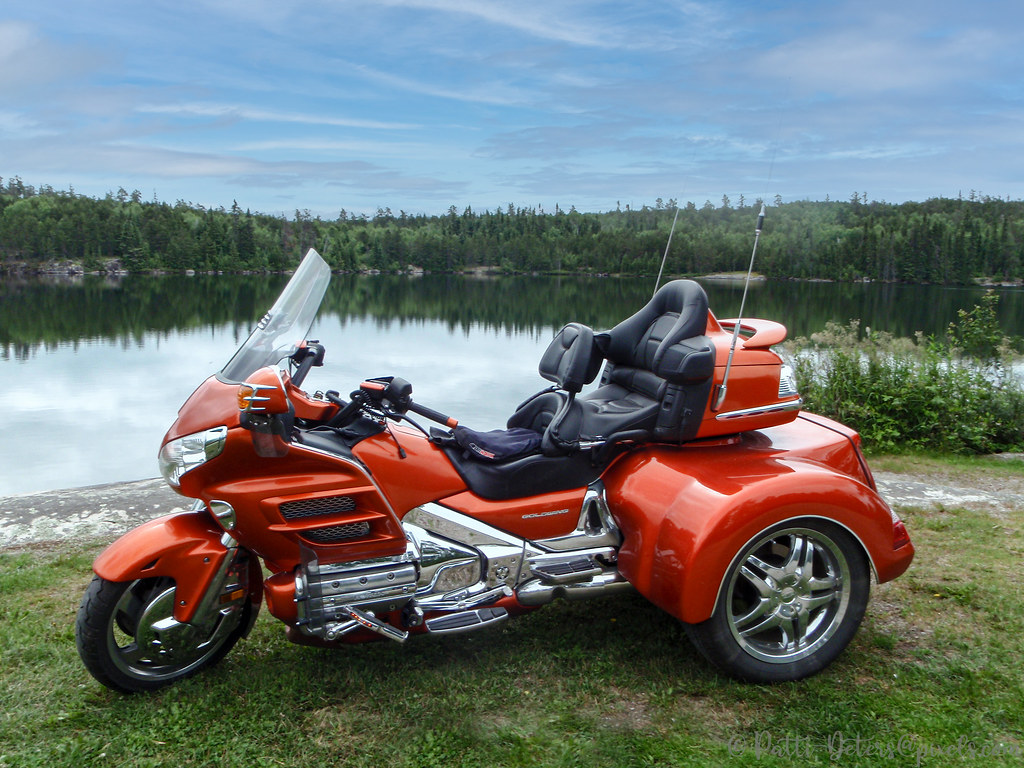 Jupiter Orange Goldwing Trike