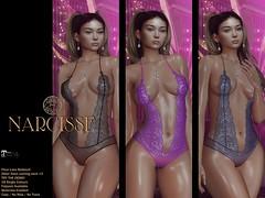 Narcisse - Fleur Bodysuit @ Fameshed X