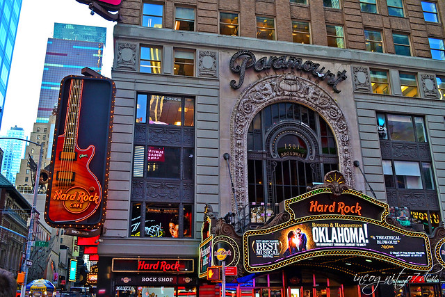 Hard Rock Cafe Times Square Paramount Building 1501 Broadway Midtown Manhattan New York City NY P00858 DSC_0963
