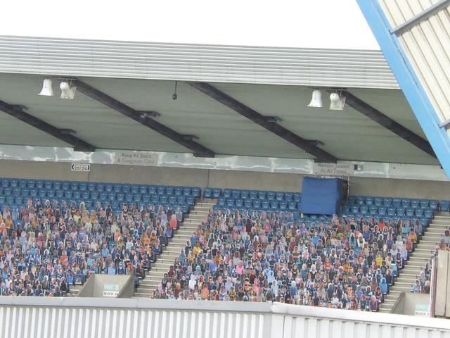 Lockdown crowd, Millwall 6/4/21