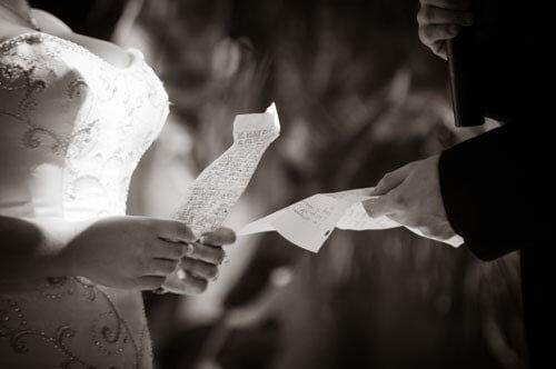 Recite Your Wedding Vows