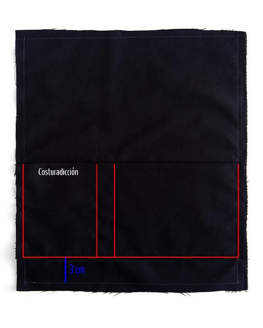 instrucciones costura bolso