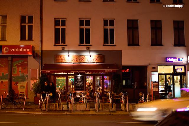 Sucre et Sel -ravintolan julkisivu Berliinissä