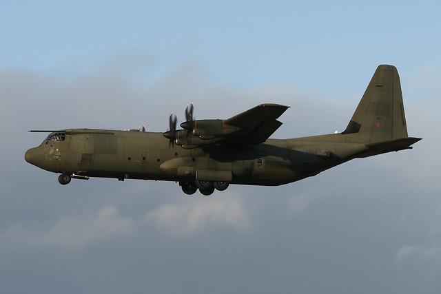 ZH867 Lockheed C130J Hercules C.4 EGPH 16-01-21