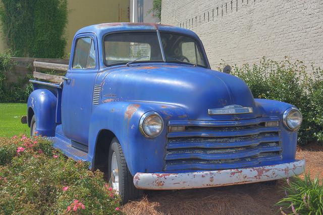 1953 Chevrolet ¾ ton Pick-up - Laurel Mercantile - Laurel Mississippi