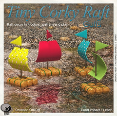 New release : Tiny corky Raft Gulls