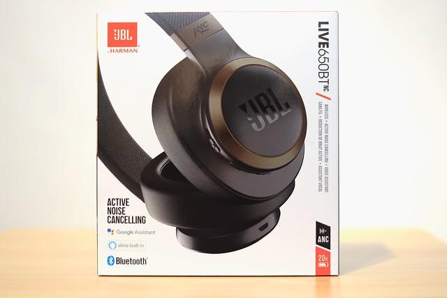 JBL LIVE 650 BT Over-Ear Noise Cancelling Headphone.