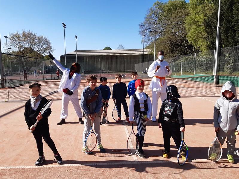 Carnaval de l'école de tennis 2021