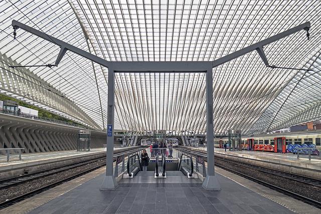 Gare Liège-Guillemins / Station Luik-Guillemins