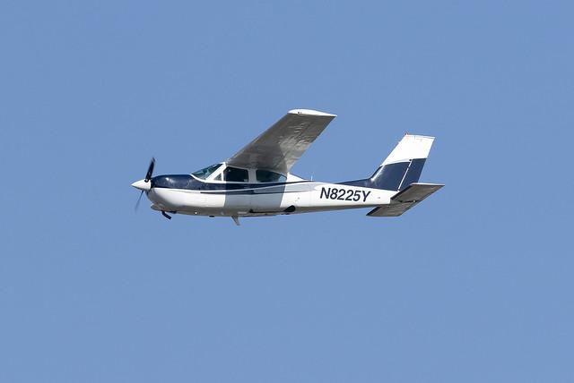 Private Cessna 177RG Cardinal RG N8225Y at Birmingham Airport BHX/EGBB