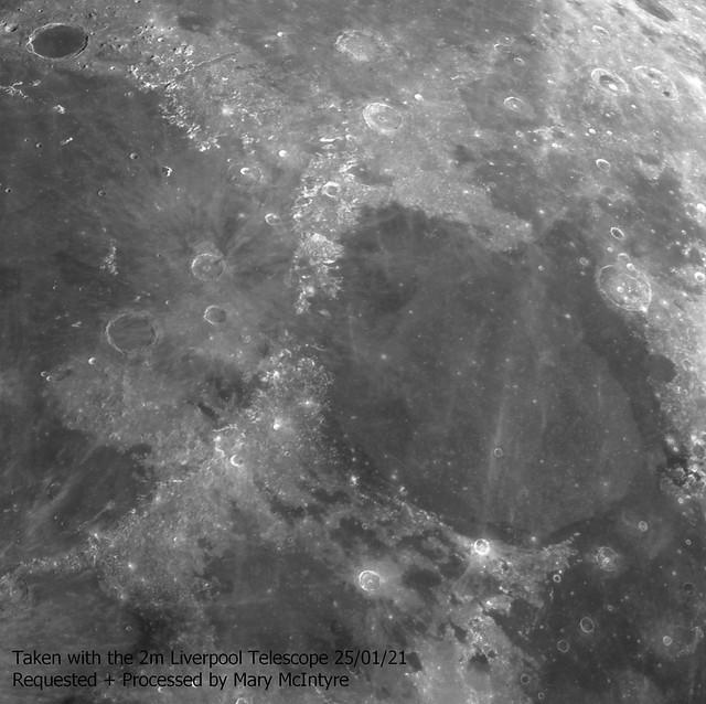 Mare Serenitatis + Surrounding Region 25/01/21