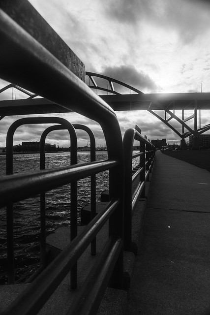 Hoan Bridge BW 2