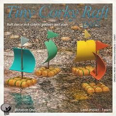 New release : Tiny corky Raft Dots