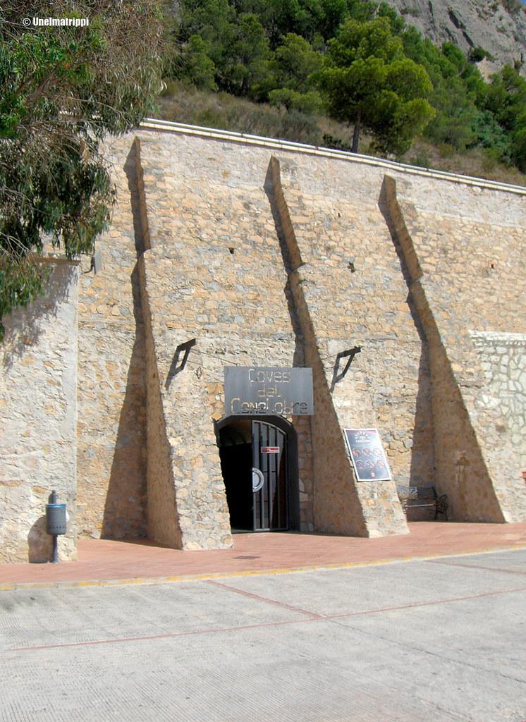 Cuevas de Canelobren sisäänkäynti