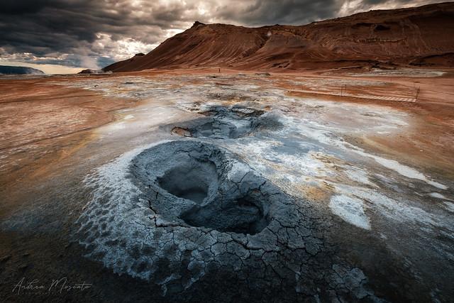 Hverir Boiling Mud (Iceland)