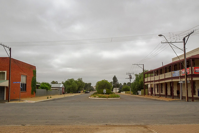 Empty Country Streets