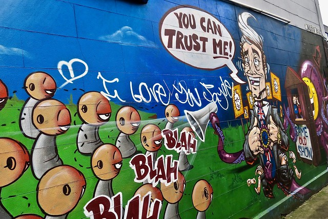 You Can Trust Me, Bristol, UK