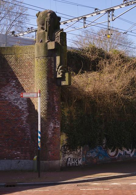Amsterdam - Spaarndammerspoorbrug