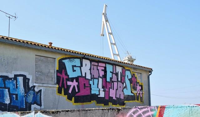 Graffiti La Pallice, La Rochelle