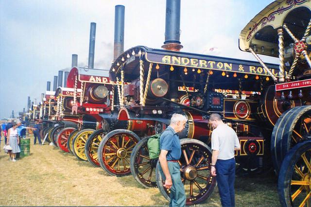 Steam Showmans Engine