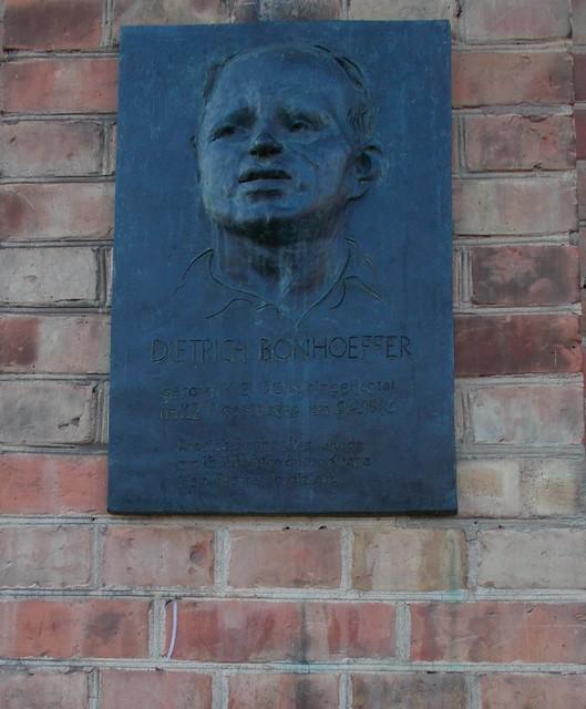 Gedenktafel Dietrich Bonhoeffer