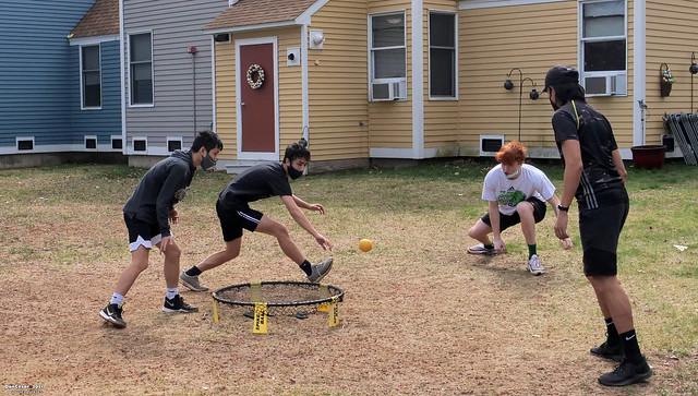 Spike ball, Amherst, Massachusetts, USA