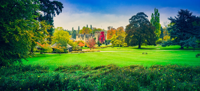 Hever Castle, Kent ヒーバー城、ケント州、イギリス
