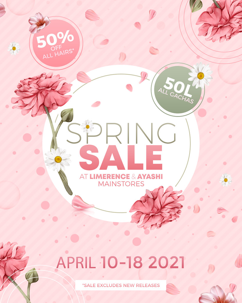 [^.^Ayashi^.^] and {Limerence} The Spring Sale!