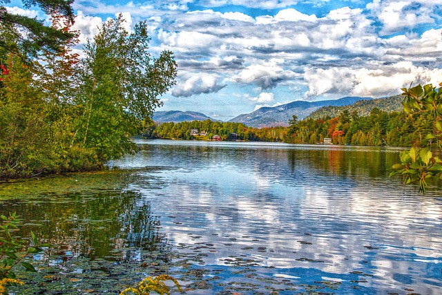 Lake Placid - New York  ~  Dramatic Refection on the  Water