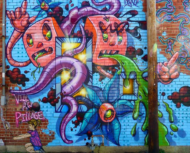 Alley Mural