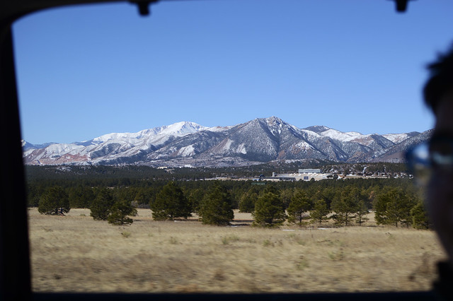 The space around the Air Force Academy