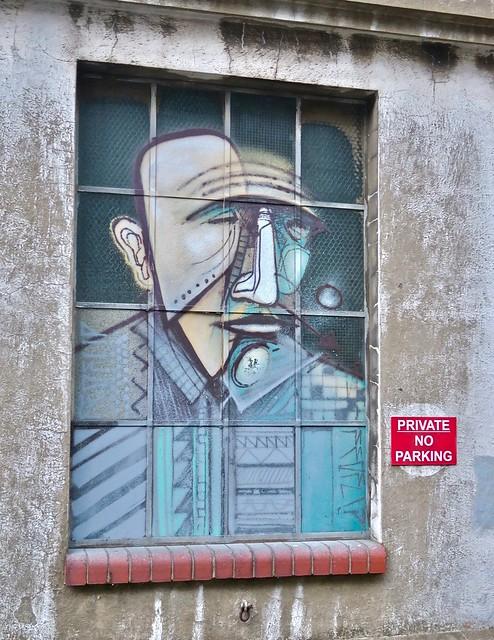 Window Portrait, Bristol, UK