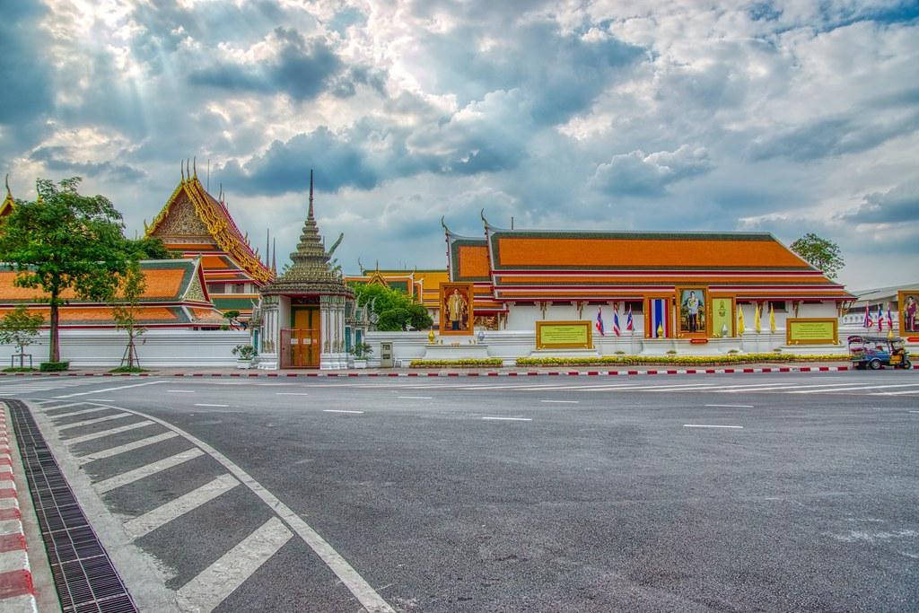 Wat Pho on Rattanakosin island (Old Town) in Bangkok, Thailand