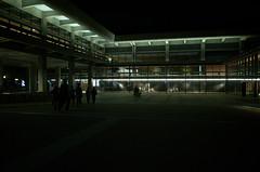 ROHM Theatre Kyoto at night, April 2016