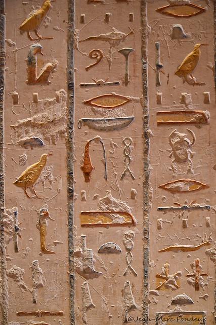 Egypte : tombe de la vallée des Rois