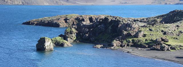 Peninsula Along The Shores Of Kleifarvatn