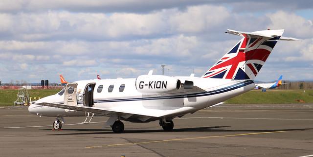 Cessna Citation: 525-0292 G-KION Cessna 525 Citationjet Newcastle Airport
