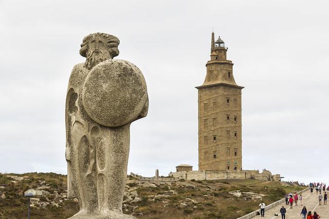 Spain - Coruña - Sculpture